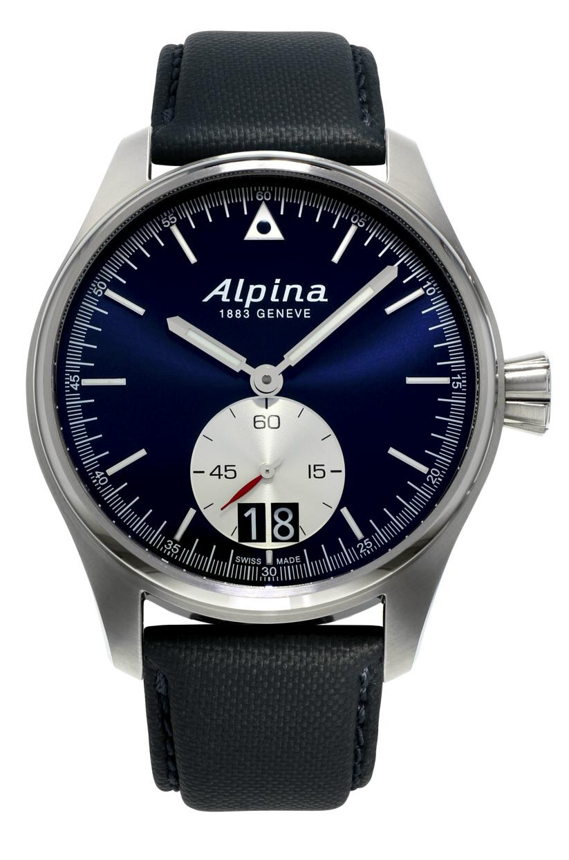 Alpina - News : Alpina Startimer Pilot Grande Date Alpnewpil1a