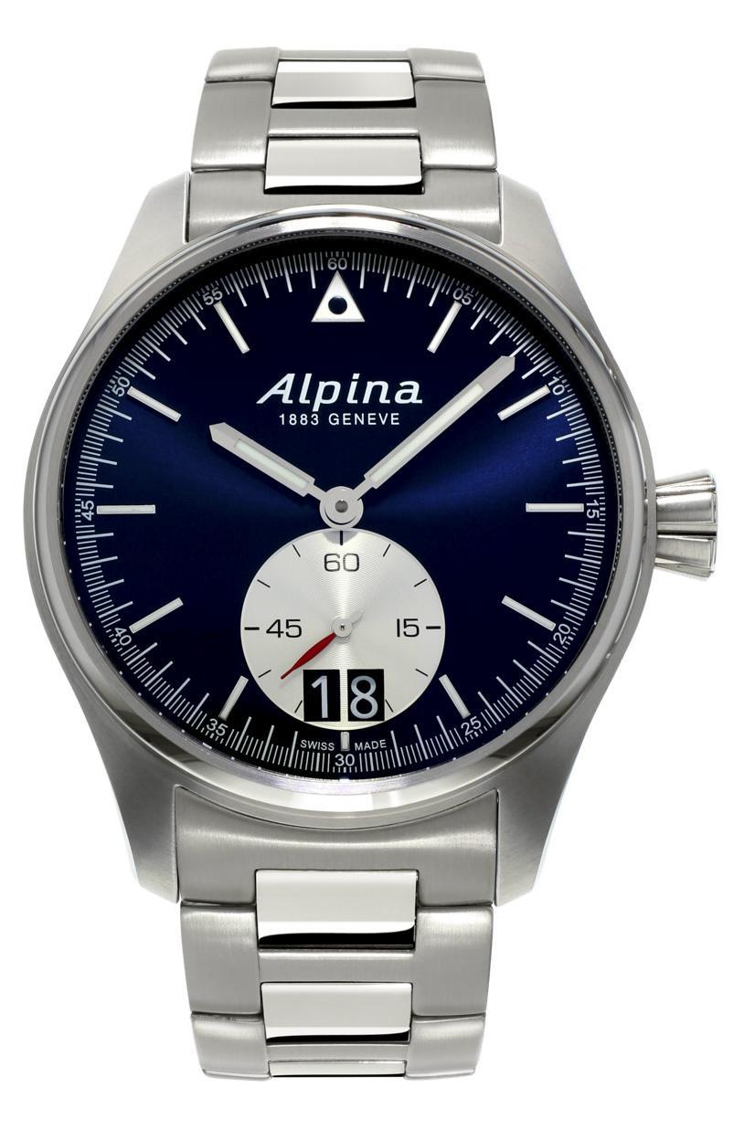 Alpina - News : Alpina Startimer Pilot Grande Date Alpnewpil1b