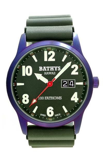 Bathys Hawaii Watch Company Bathys