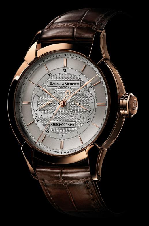 News : Baume & Mercier – William Baume Chrono Monopoussoir Bmmono1