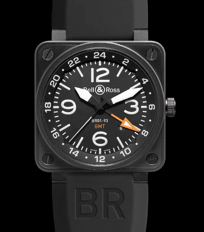 NEWS: Bell & Ross Instrument BR 01-93 24H GMT Brgmt