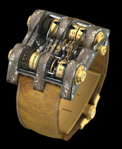 News : Romain Jerome Cabestan Titanic DNA Tourbillon Vertical Cabestan