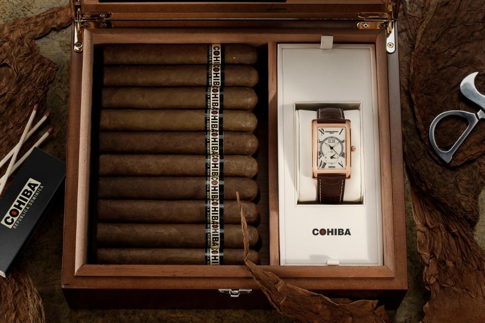 News : Frédérique Constant en partenariat avec Cohiba Cohibabox1
