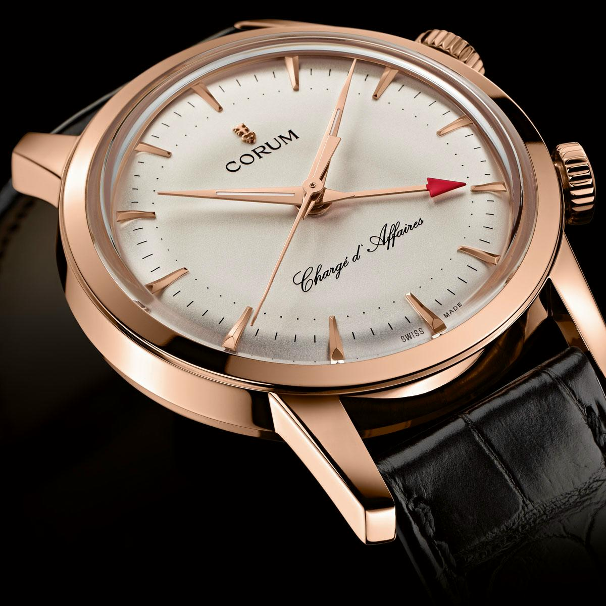 corum - News : Corum Heritage Vintage Chargé d'Affaires Corumcharge