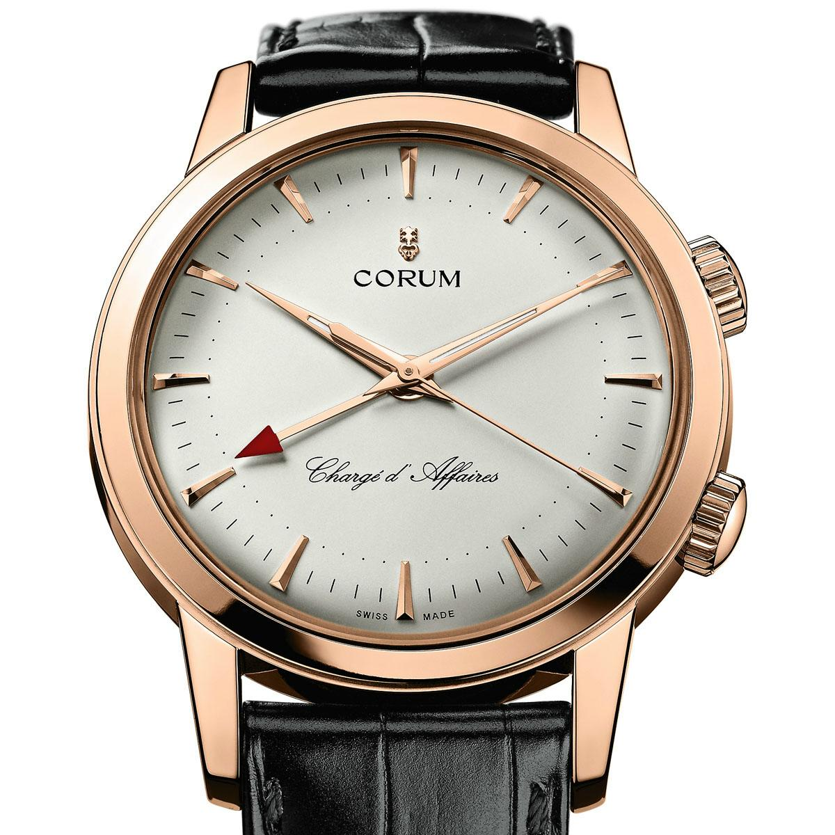 corum - News : Corum Heritage Vintage Chargé d'Affaires Corumcharge1