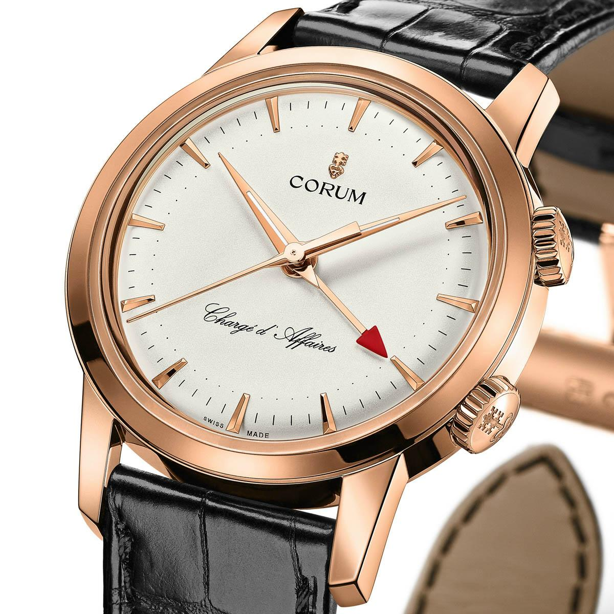 corum - News : Corum Heritage Vintage Chargé d'Affaires Corumcharge2