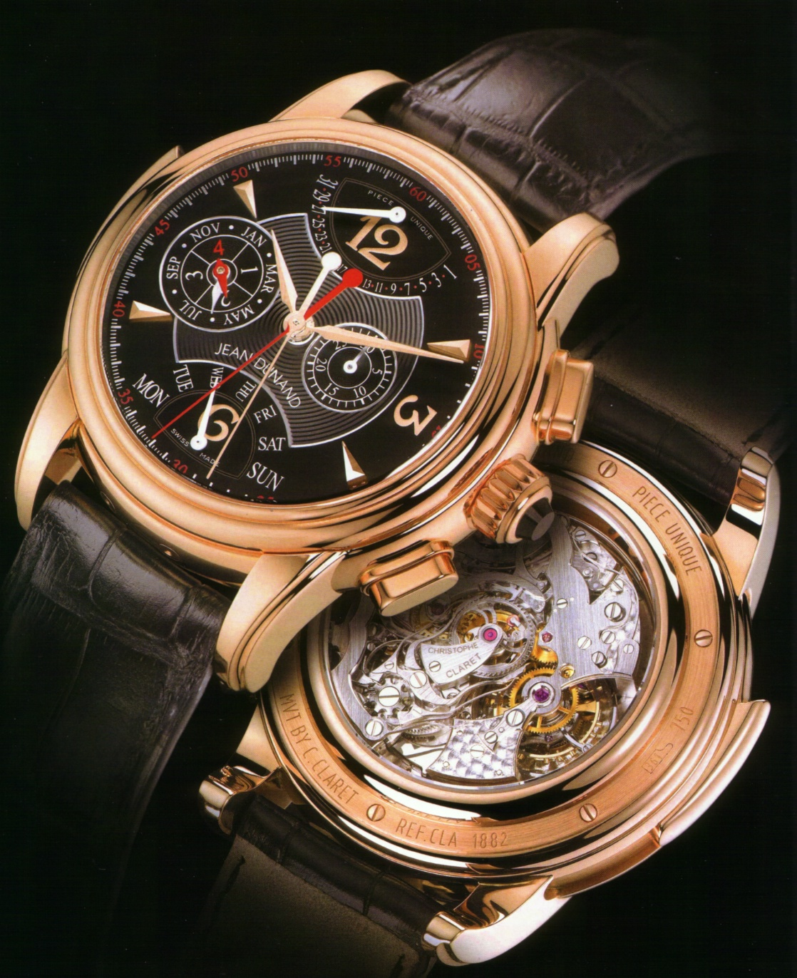 Jean Dunand Grande Complication Limited Edition Dunand2