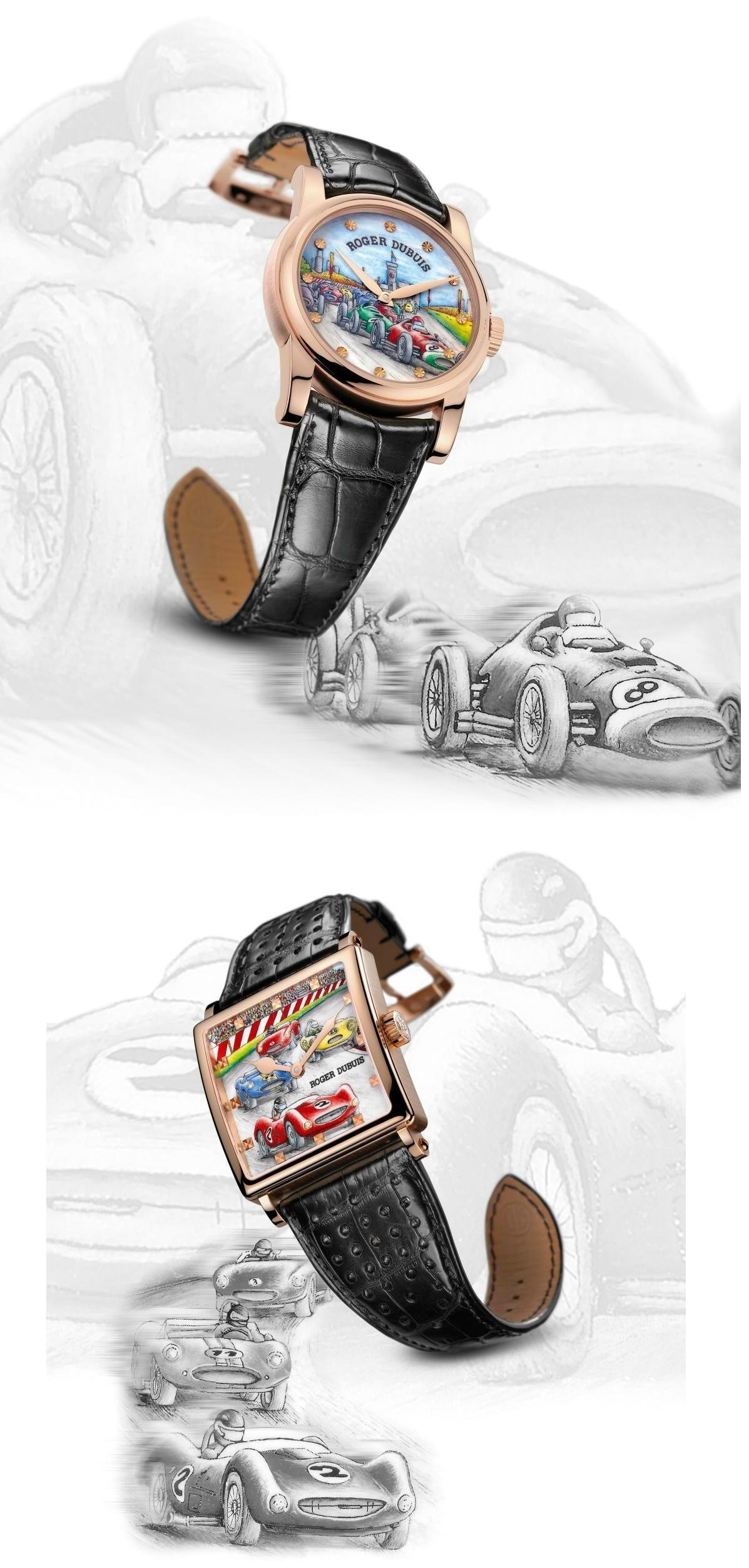 Roger Dubuis Vintage Grand Prix Collection Duvincar