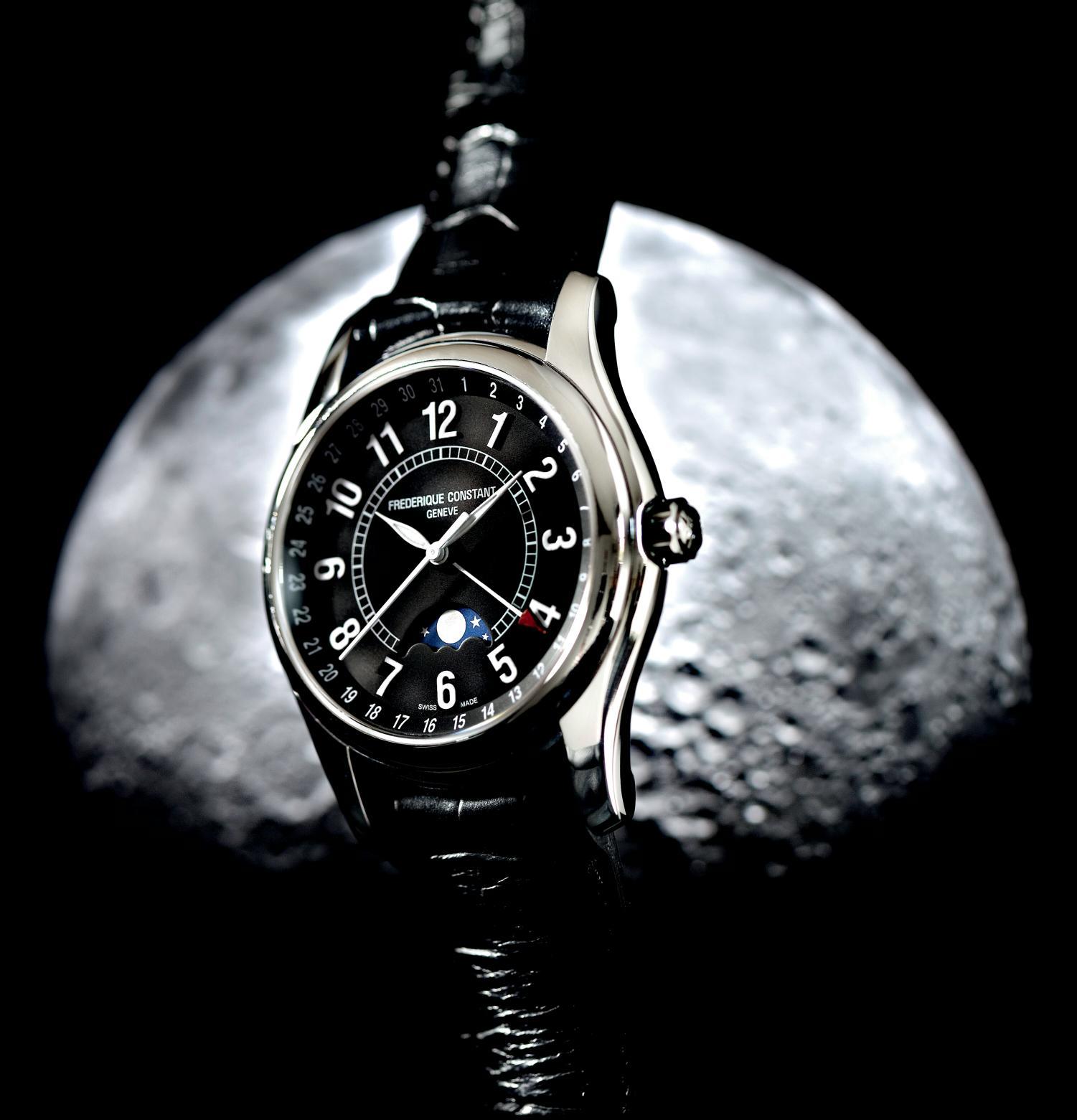 News : Frédérique Constant Moon Timer Fcmoon2