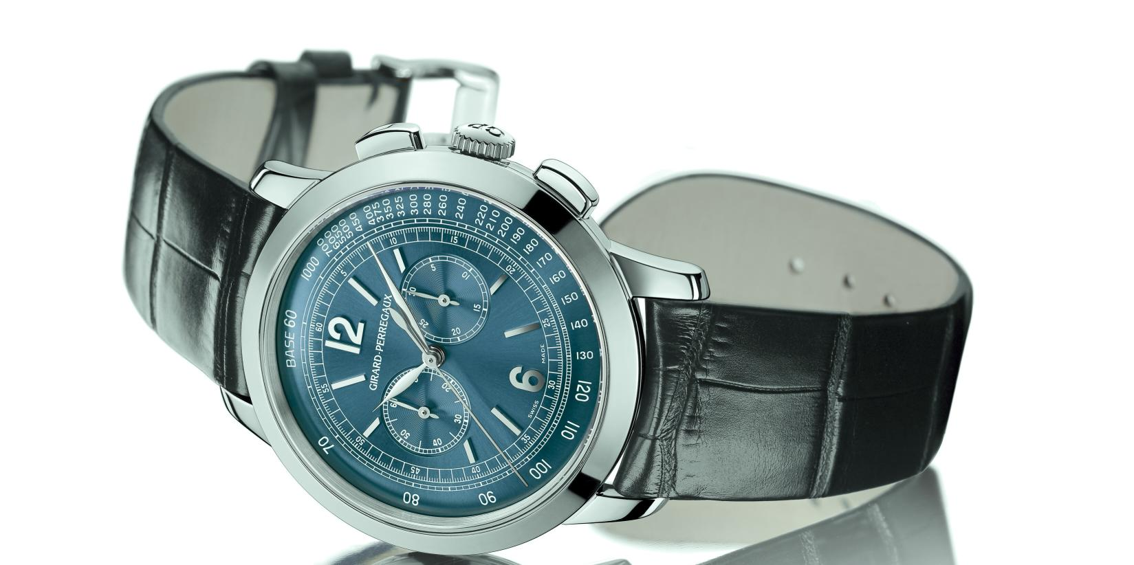 GP chronograph 1966 en bleu Gpblue1
