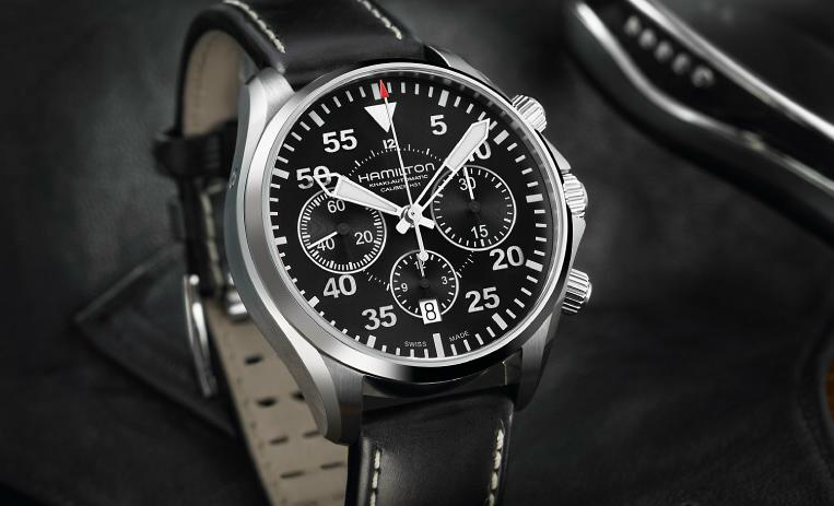 News : Hamilton Khaki Aviation Pilot Chrono H31