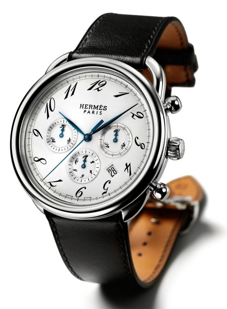 Hermes Arceau Chronograph Automatic Hermesar