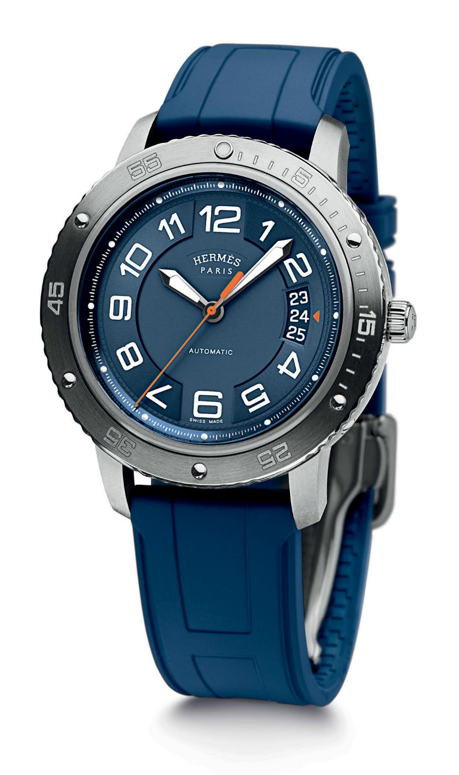 News :  Hermès Clipper Sport Automatic Hermesdiver