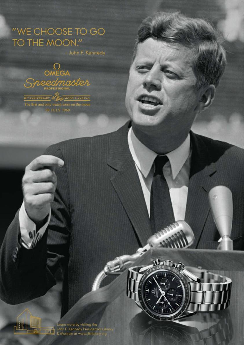 Un président des états unis peut-il devenir un objet publicitaire ? Kennedy