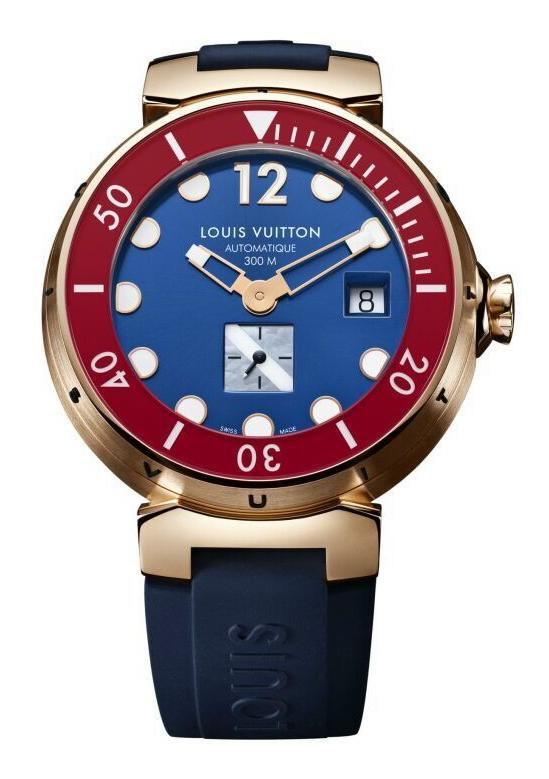 News : Louis Vuitton Tambour Diving II Lvdivertambour