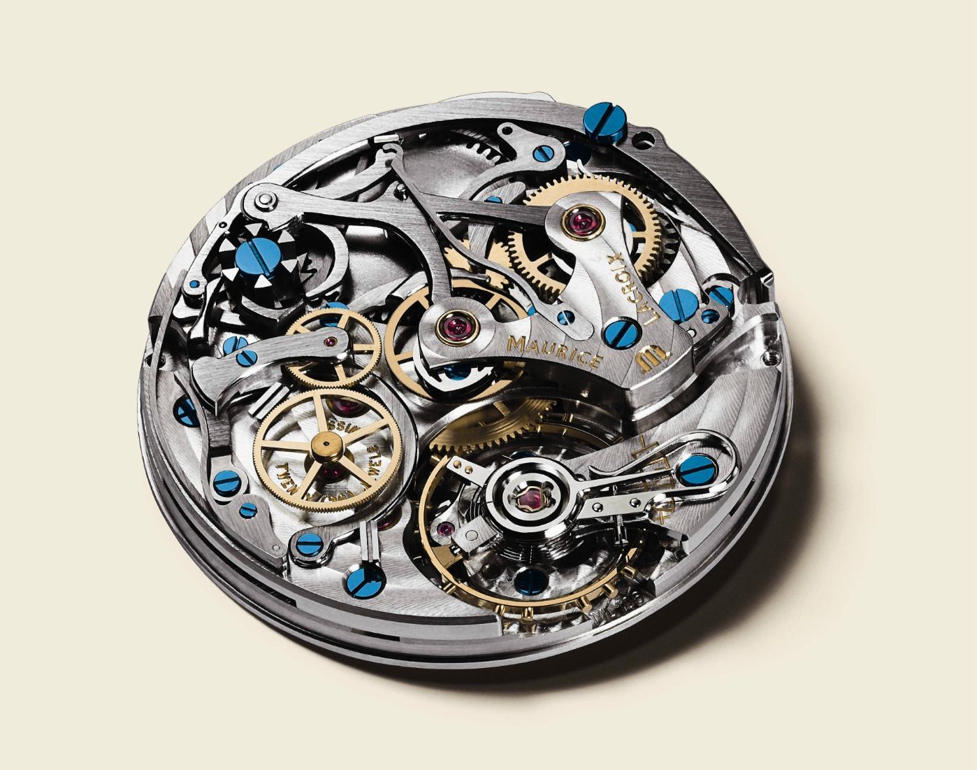 Maurice Lacroix - Masterpiece Le Chronographe ( manufcature) Mlle1