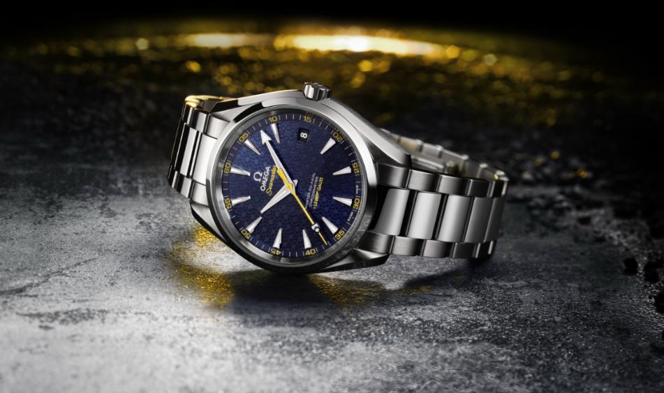 omega - Omega Seamaster Aqua Terra 150M James Bond Omegabond15b