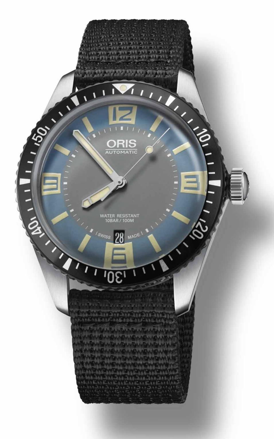 New Oris Divers Sixty-Five Deauville Blue  Orisdeau3