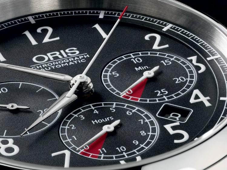News : Oris Chronographe Rally RAID Orisraid1