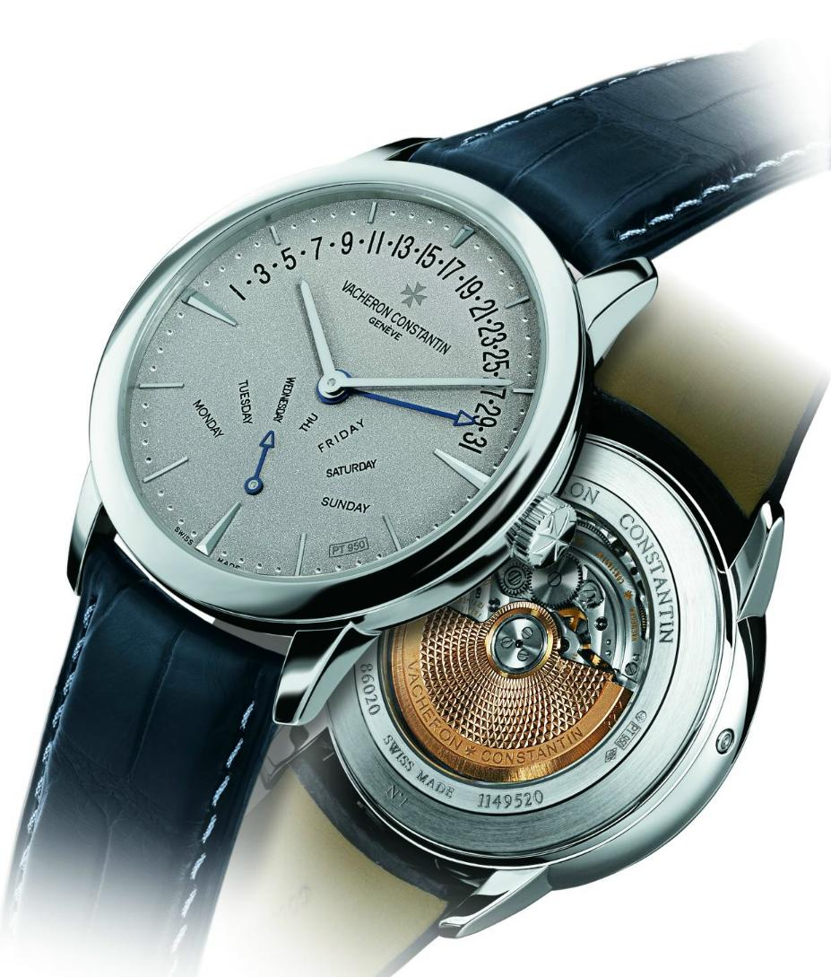 News : Vacheron Constantin Patrimony Double Retrograde Platine