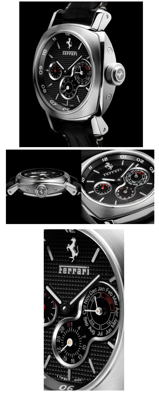News : Panerai Calendrier Perpétuel pour Ferrari Qppan