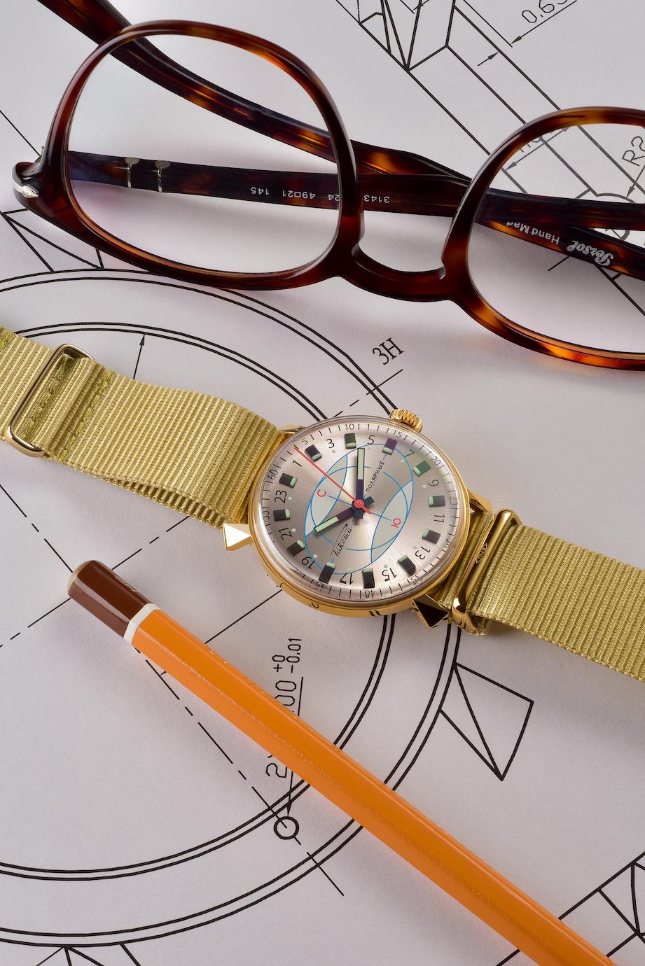Raketa's new Polar Watch Re-edition Rakpol1