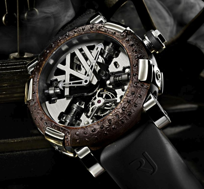 News :  Romain Jerome Tourbillon Steampunk A la Grande Rust
