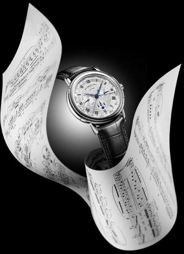 News : Raymond Weil Maestro Phase de Lune Semainier Rwmoonpha