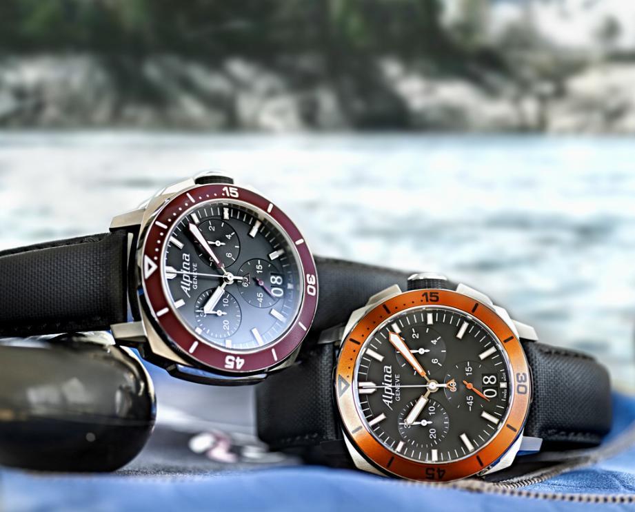 Alpina's new Seastrong Diver 300 Chronograph Seastrong3