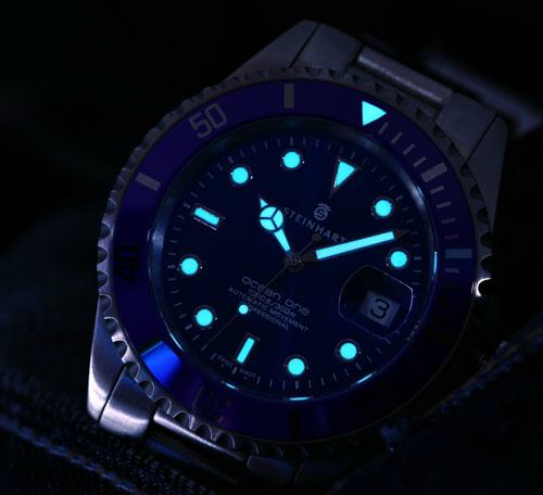 Steinhart's new Ocean One Premium Blue Steinbluedive4