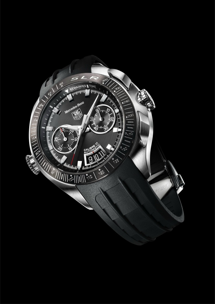 Tag Heuer SLR Mercedes-Benz & Aquaracer Chronograph Taga4