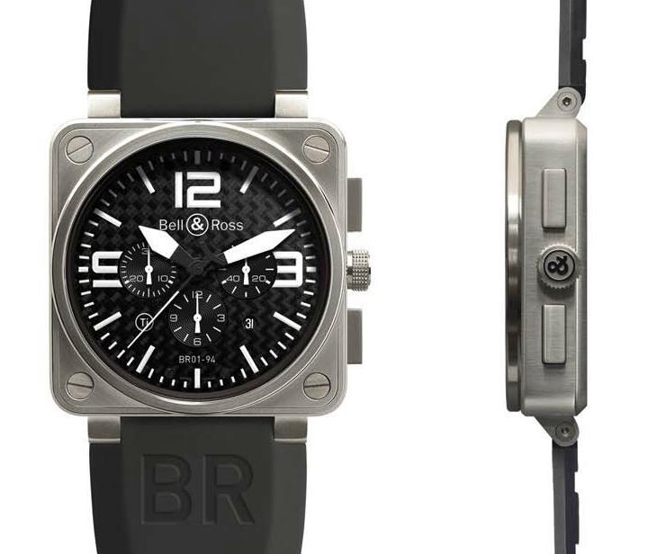 Bell & Ross BR01-92 et 94 Titane3