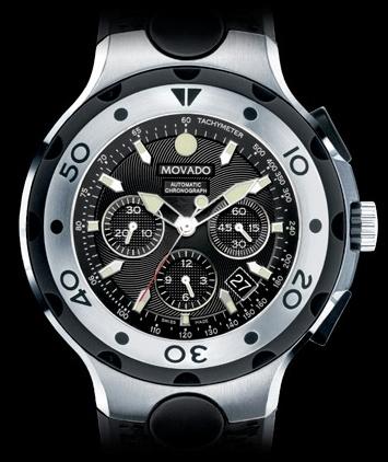 Movado 800 Series Automatic Chronograph Tom Brady Edition Tombrady