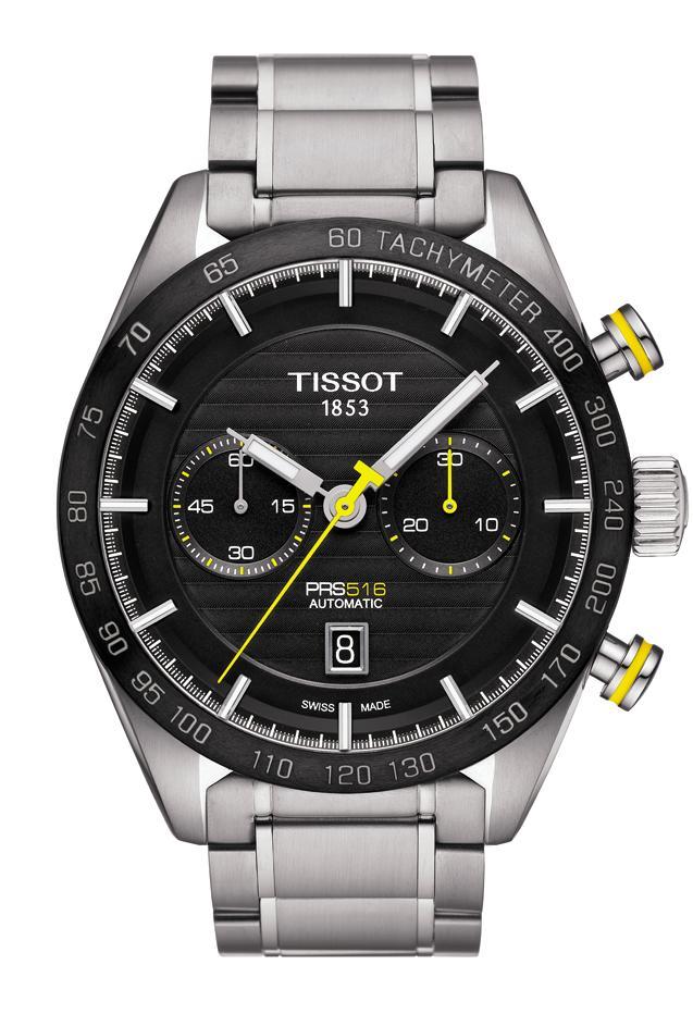 Tissot's new PRS 516 Chronograph Bi-Compax Tprs516a