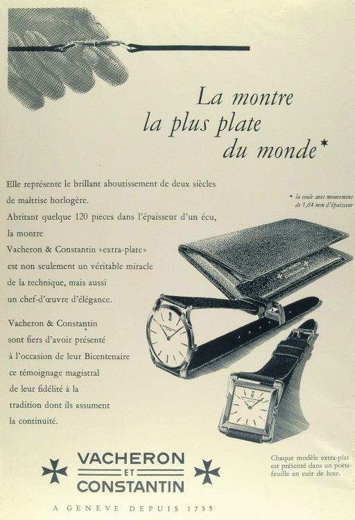 vacheron - News : Vacheron Constantin Historique Ultra-fine 1955 et 1968 Ultrafine3