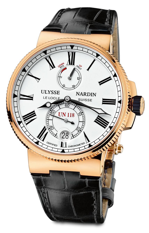 News : Ulysse Nardin Chronomètre Manufacture Unmarine1a