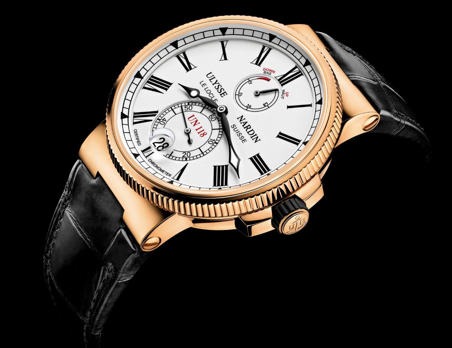 News : Ulysse Nardin Chronomètre Manufacture Unmarine1b