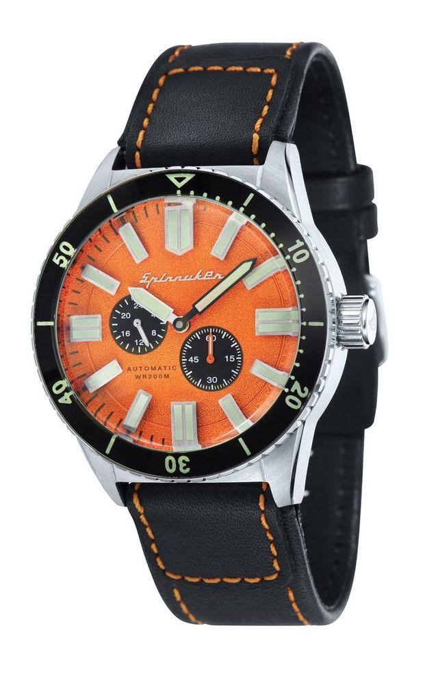 Spinnaker's new Haas Vintage Diver Vhaas2
