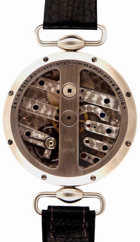 ZENO et les 300 calibres de Record Watches C° Zk2