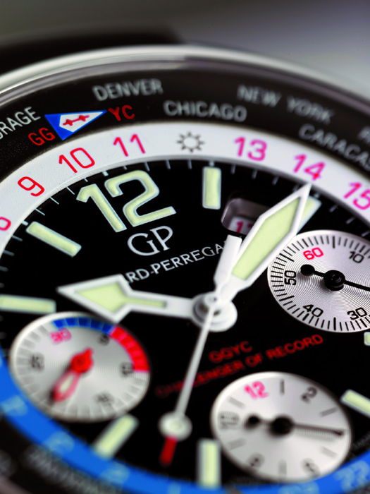 Girard-Perregaux BMW Oracle Racing Team USA 76 WW.Tc Chrono Dial