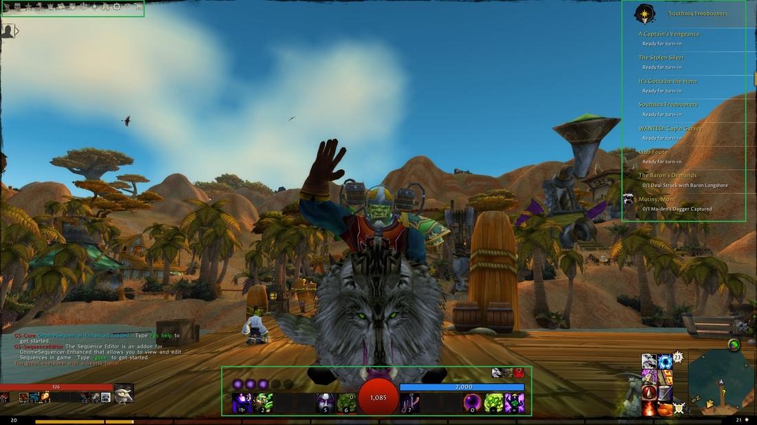 World Of Warcraft 7.0.3 addon pack 1 1_orig