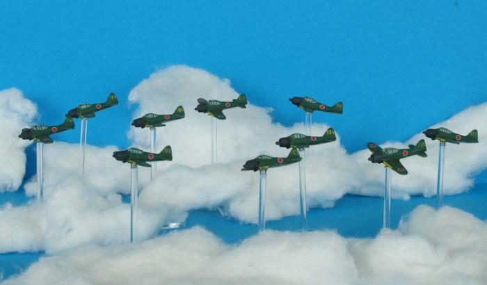 [1/285] Bataille du Pacifique - Aviation japonaise A6M5_Rei-sen_4