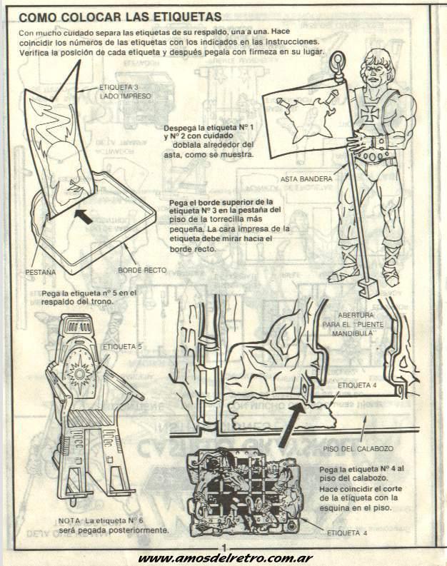 Notices Espagnoles Manual_Castillo_Grayskull_01