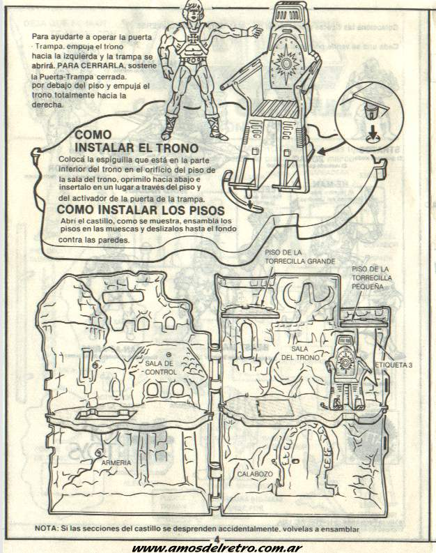 Notices Espagnoles Manual_Castillo_Grayskull_04