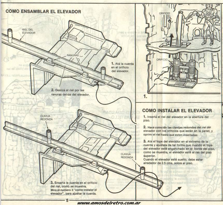 Notices Espagnoles Manual_Castillo_Grayskull_05