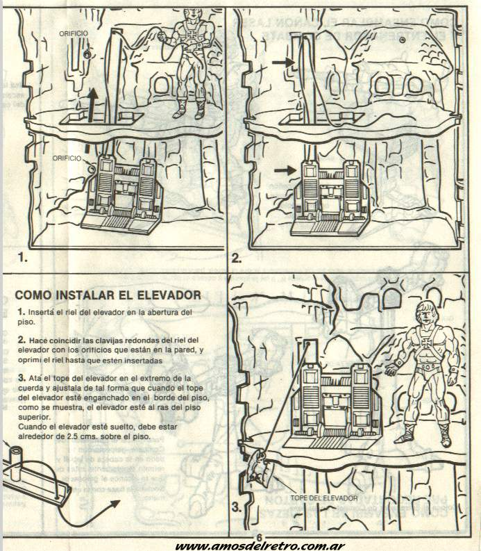 Notices Espagnoles Manual_Castillo_Grayskull_06