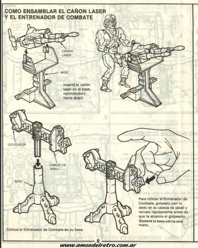 Notices Espagnoles Manual_Castillo_Grayskull_09