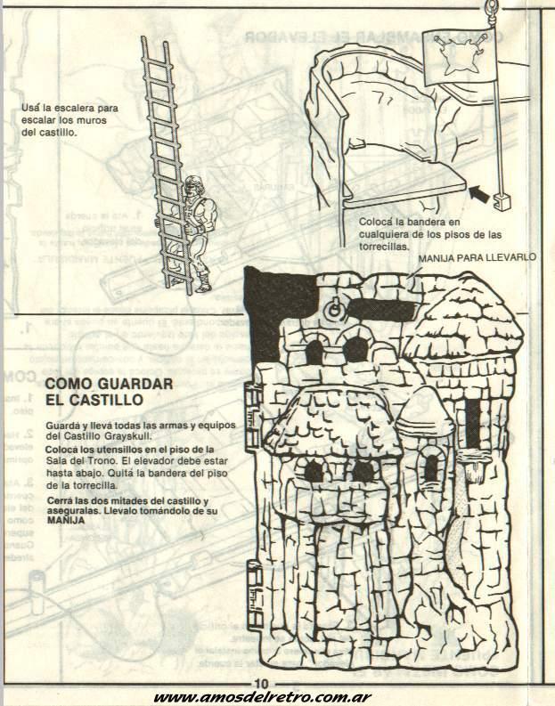 Notices Espagnoles Manual_Castillo_Grayskull_10