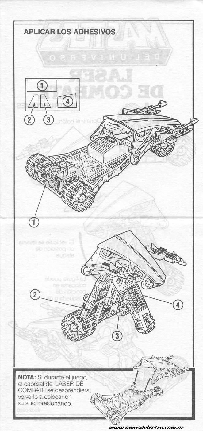 Notices Espagnoles Manual_Laserbolt02