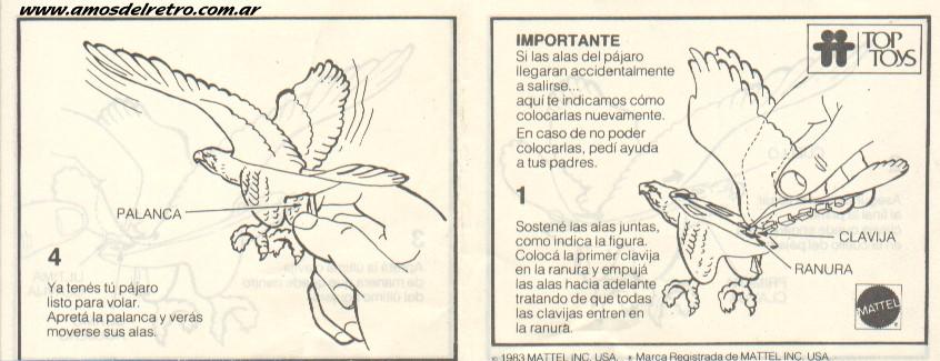 Notices Espagnoles Manual_Pajaros01